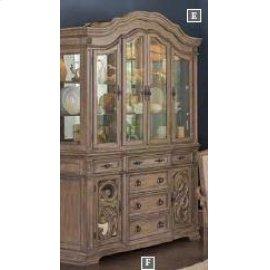 Ilana Traditional China Cabinet