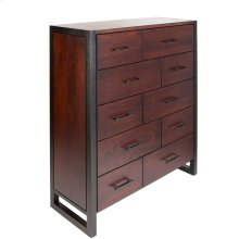 10 Drawer Gents Chest