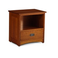 Prairie Mission Nightstand with Opening Product Image