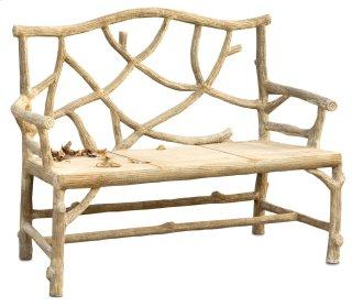 Woodland Bench - 37.5h,Seat 17h x 21d x 49w