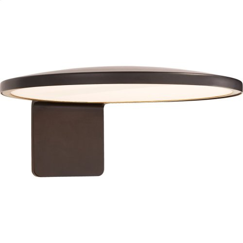 Visual Comfort PB2000MBK Peter Bristol Dot LED 6 inch Matte Black Outdoor Wall Light