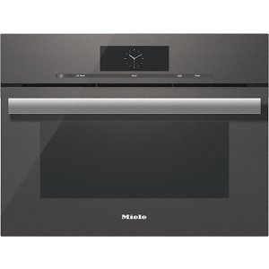 MieleDGC 6800-1 Steam oven with full-fledged oven function and XL cavity combines two cooking techniques - steam and convection.