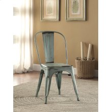 Bellevue Rustic Blue Dining Chair