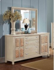 Pacifica Creme Dresser & Mirror Product Image