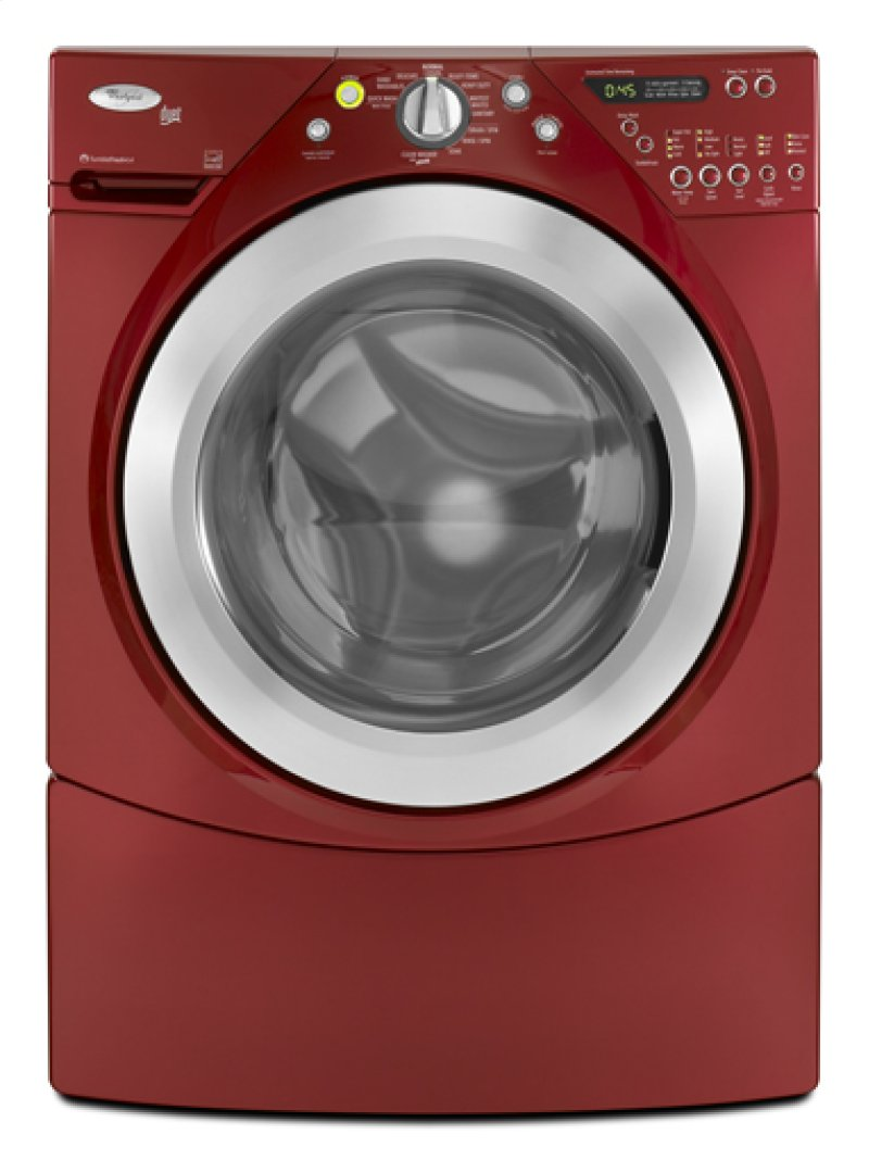 Cranberry Red Whirlpool Energy Star Qualified Duet 4 Cu Ft Front Hidden