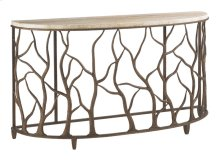 Bannister Garden Console Table