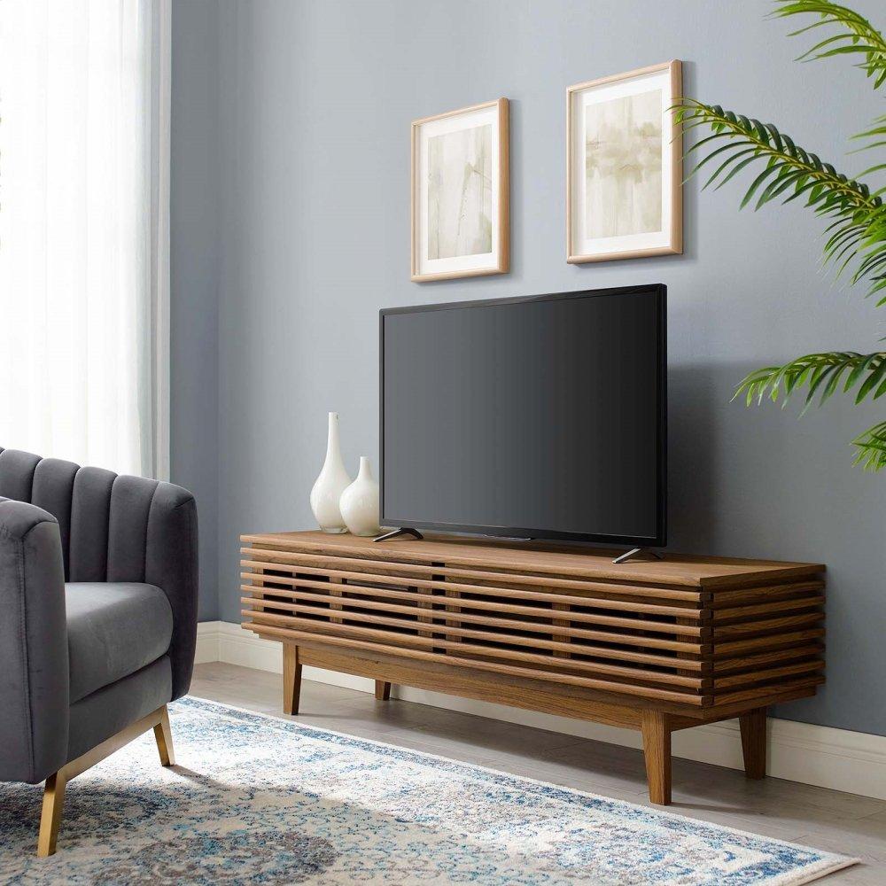"""Render 60"""" TV Stand in Walnut"""