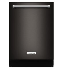44 dBA Dishwasher with Dynamic Wash Arms and Bottle Wash - Black Stainless-CLOSEOUT