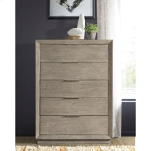 Zoey - Five Drawer Chest - Urban Gray Finish