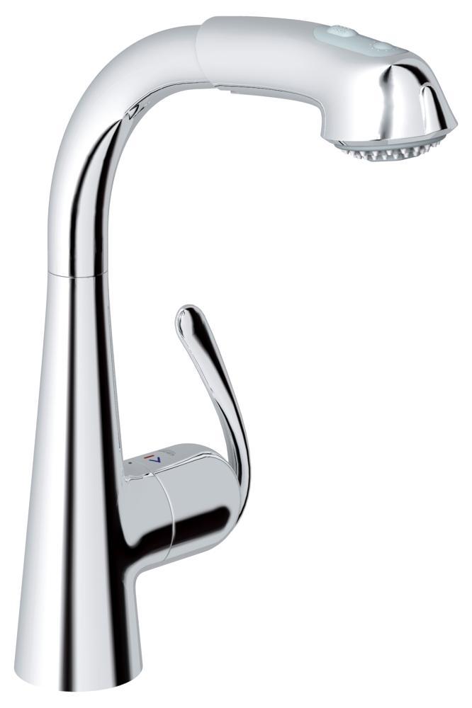 Ladylux3 Plus Single-Handle Kitchen Faucet