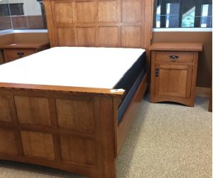 Gallatin Classic Mission Flat Panel Bed