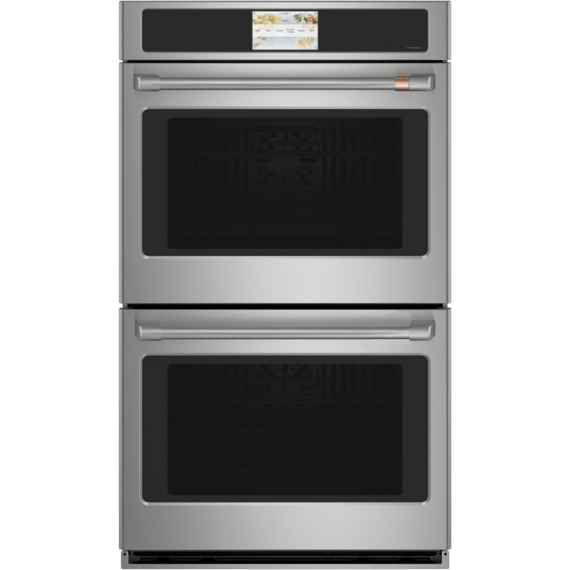 "Caf(eback) 30"" Smart Double Wall Oven with Convection"