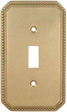 Single Beaded Switchplate Product Image