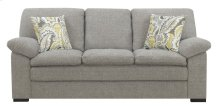 Emerald Home U3526-00-03 Grandview Sofa, Pebbled Gray