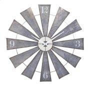 Ward Metal Windmill Wall Clock Product Image