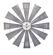 Ward Metal Windmill Wall Clock Product Image