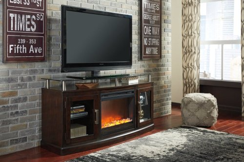 Fireplace Insert Glass/stone