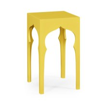 Square Lamp Table (Yellow Rain Coat)