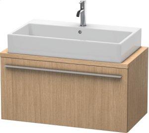 X-large Vanity Unit For Console Compact, European Oak (decor)