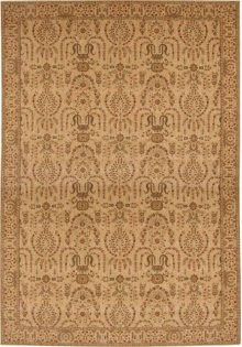 Hard To Find Sizes Grand Parterre Pt02 Beige Rectangle Rug 9' X 12'