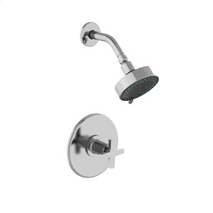 White Balanced Pressure Shower Trim Set