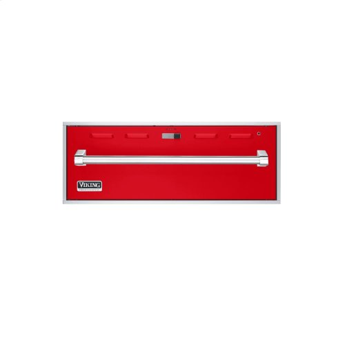 """Racing Red 27"""" Professional Warming Drawer - VEWD (27"""" wide)"""