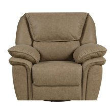 Emerald Home Allyn Swivel Recliner Desert Sand U7127-04-15