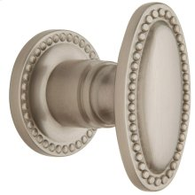 Satin Nickel with Lifetime Finish 5060 Estate Knob