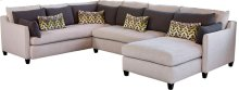 Laban Armless Loveseat