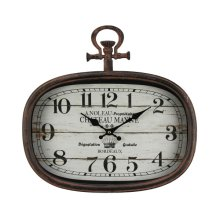 French Village Wall Clock