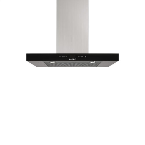 "30"" Cooktop Wall Hood - Black"