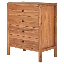 Sorrento Chest 4 Drawers, Newton Brown