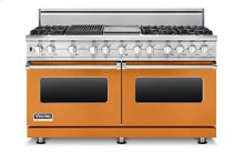 "60"" Sealed Burner Dual Fuel Range, Propane Gas"
