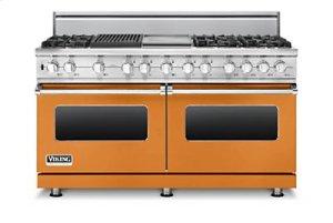 "60"" Sealed Burner Dual Fuel Range, Propane Gas"