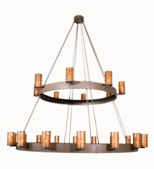 "165""W Chappell 24 LT Two Tier Chandelier"