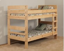 Twin/Twin Stackable Bunkbed - *Includes 708HB headboard and footboard, 708R rails.