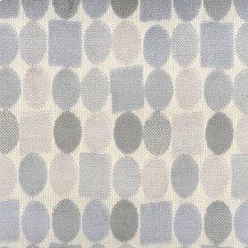 Spot Block Blue Fabric
