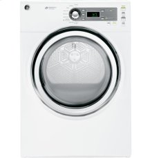 GE® 7.0 cu.ft. capacity gas dryer with steam