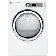 GE® 7.0 cu.ft. capacity electric dryer with steam