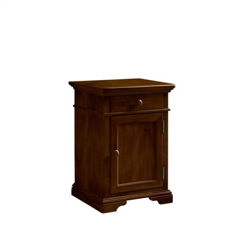 Teaberry Lane Midnight Cherry Bedside Cabinet