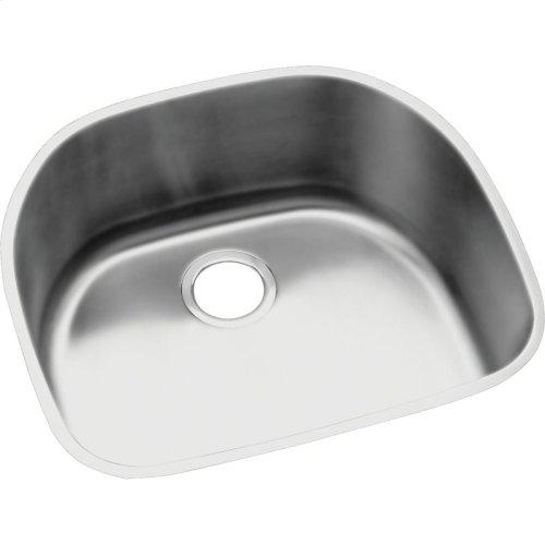 "Elkay Lustertone Classic Stainless Steel 23-5/8"" x 21-1/4"" x 10"", Single Bowl Undermount Sink Kit"