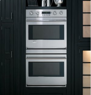 """GE Monogram® 30"""" Built-In Electronic Convection Double Wall Oven"""