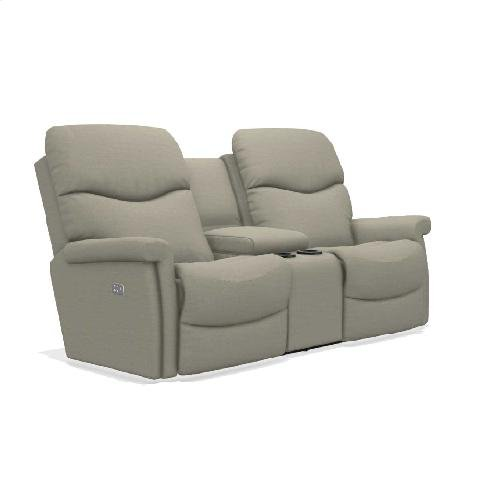 Baylor Power Wall Reclining Loveseat w/ Console