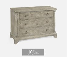 Large Rustic Grey Chest of Drawers