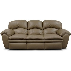 England Furniture Oakland Leather Double Reclining Sofa 7201l