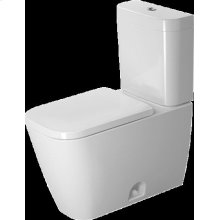 White Happy D.2 Two-piece Toilet Duravit Rimless®