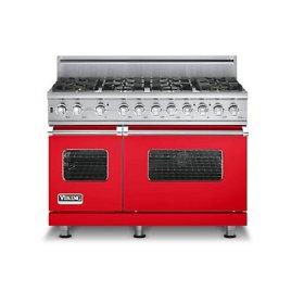 "48"" Custom Sealed Burner Self-Cleaning Range, Propane Gas, No Brass Accent"