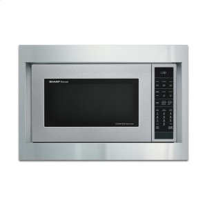 """Sharp AppliancesSharp 27"""" Built-in Microwave Oven Trim Kit"""