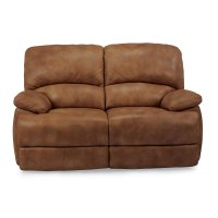 Dylan Leather Power Chaise Reclining Loveseat Product Image