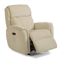 Luna Fabric Power Recliner with Power Headrest